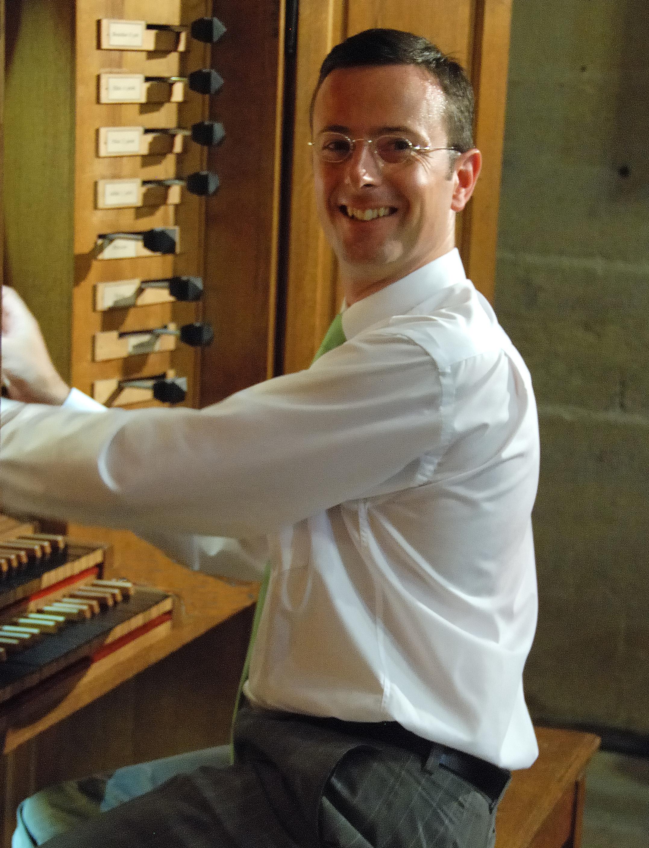 Audition d'olivier Perin Amis de l orgue de la cathédrale de chambéry