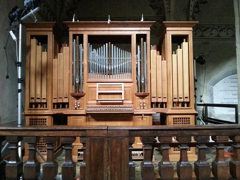 orgue de choeur - cathédrale de Chambéry
